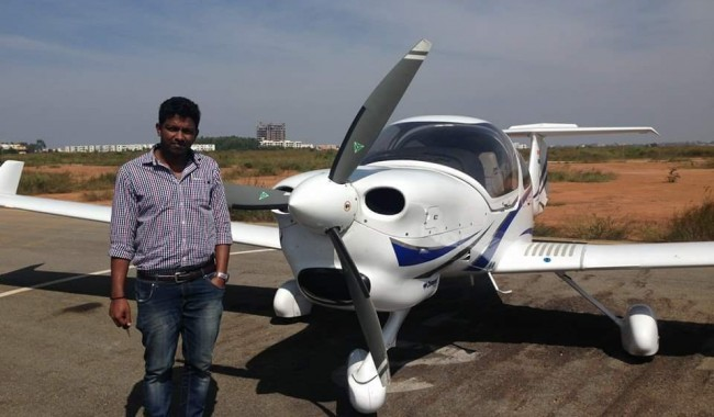 Aircraft Flying in Bangalore