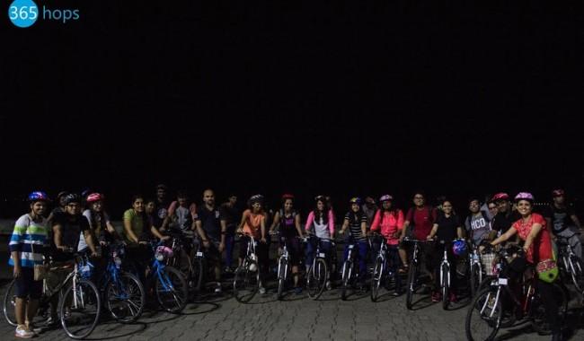Mumbai Midnight Cycling Heritage Ride