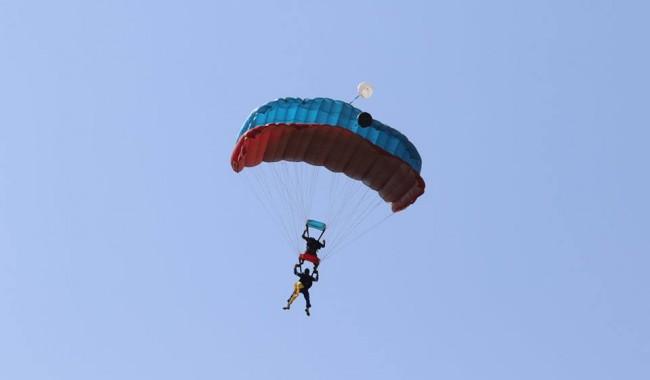 skydiving in Karnataka