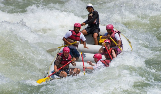 Rafting at Shivpuri Rishikesh