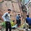Rock Climbing at Lado Sarai