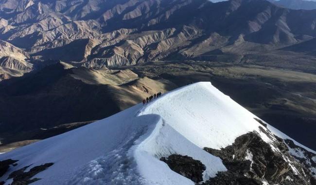 Kang Yatse II Peak Trek Leh, Ladakh