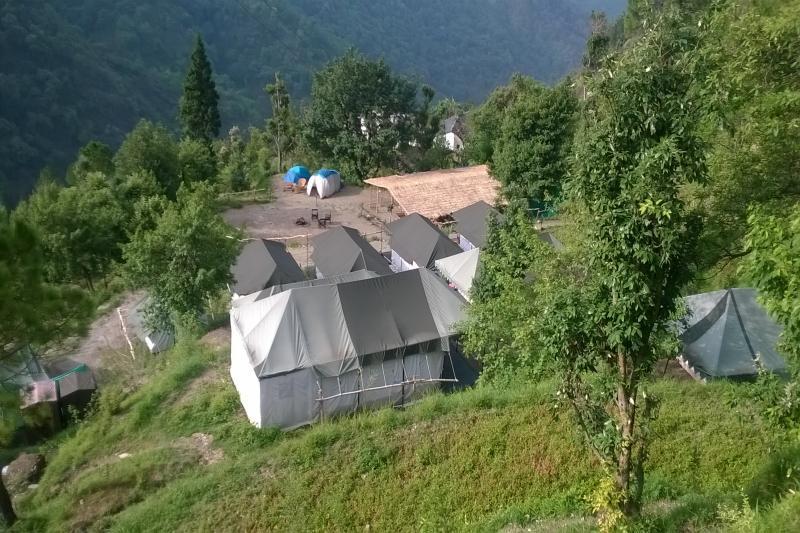 Hidden Valley Camp Nainital Pangot